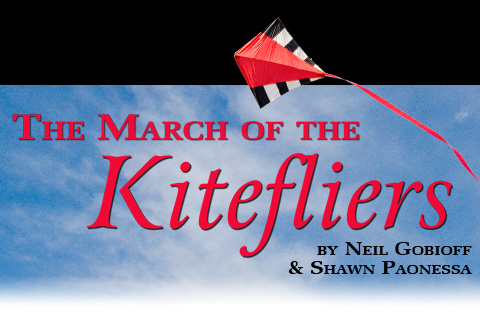The March of the Kitefliers